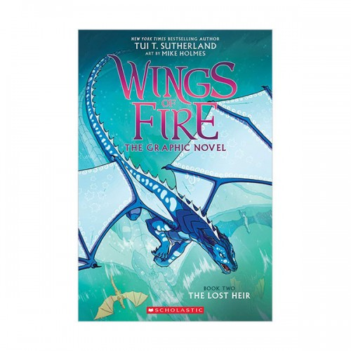 Wings of Fire Graphic Novel # 02 : The Lost Heir (Paperback)