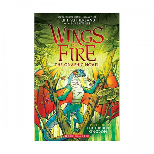 Wings of Fire Graphic Novel # 03 : The Hidden Kingdom (Paperback)