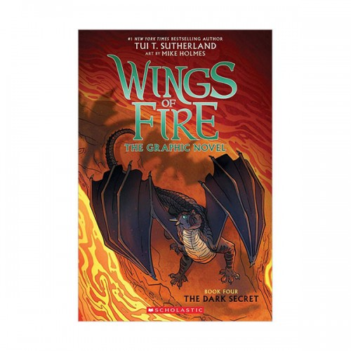 Wings of Fire Graphic Novel # 04 : The Dark Secret (Paperback)
